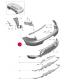 سپر عقب پورشه ماکان سال های 2014 تا 2015 - 95B807421