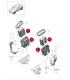 فیلتر هوا پورشه ماکان سال های 2014 تا 2015 - 95B129620