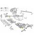 سینی زیر موتور مرسدس بنز کلاس C سال های 2008 تا 2014 (اورجینال) - A2045202823