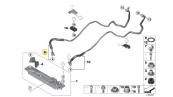 لوله خنک کننده ورودی بی ام و X5 و X6 سال های 2010 تا 2014 - 17217600973