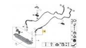 لوله خنک کننده خروجی بی ام و X6 سال های 2010 تا 2014 (اورجینال) - 17217600974