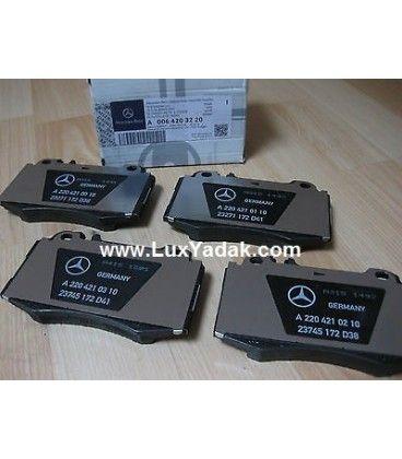 لنت ترمز جلو AMG/Sport مرسدس بنز E240 سال های 2003 تا 2012 (اورجینال) - A0064203220