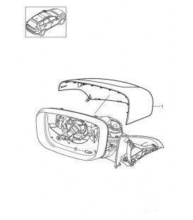 قاب آینه راست ولوو XC60 سالهای 2009 تا 2013 (اورجینال) - 39854924