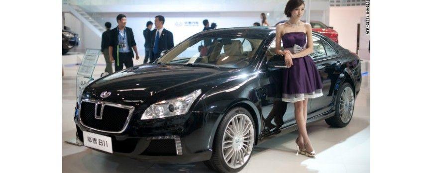 کپی برداری چینی ها در صنعت خودرو سازی