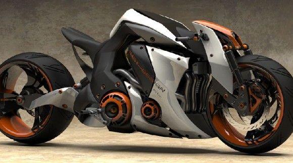 مفهوم و تصور جدید از طراحی موتور سیکلت ها خیابانی