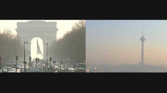 پاریس در دود : ممنوعیت تردد خودرو های با سن بیشتر از 20 سال