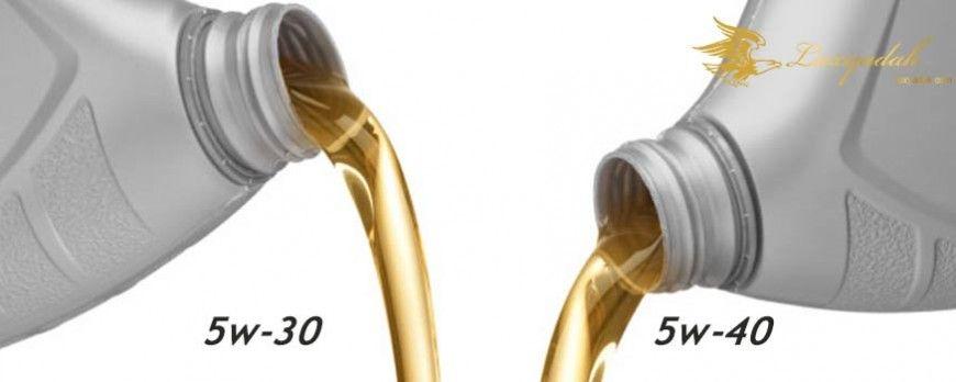 بررسی تفاوت های دو روغن موتور 5w-30 با 5w-40