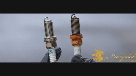 چگونه شمع موتور مرسدس بنز کلاس c را عوض کنم؟