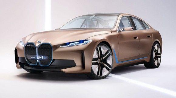 مشخصات فنی و ظاهری خودروی سوپر لوکس بی ام و i4